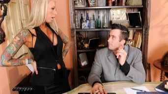 Lolly Ink in ' and Billy Glide in Naughty Office'