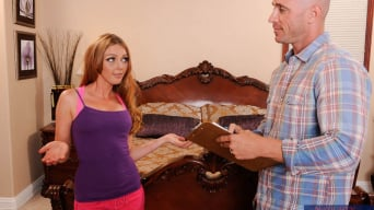 Marie McCray in 'and Johnny Sins in I Have a Wife'