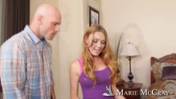 Marie McCray and Johnny Sins in I Have a Wife