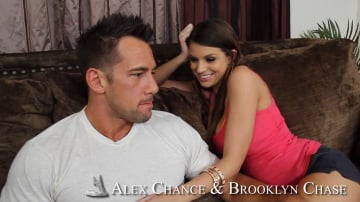 Alex Chance, Brooklyn Chase and Johnny Castle in 2 Chicks Same Time