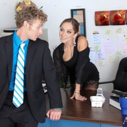 Remy LaCroix in 'Naughty America' and Michael Vegas in Naughty Office (Thumbnail 2)