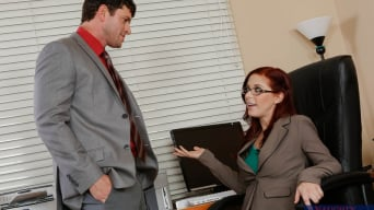 Penny Pax in 'and Preston Parker in Naughty Office'