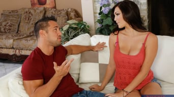 Holly Michaels in 'and Johnny Castle in My Dad's Hot Girlfriend'