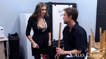 Alex Chance and Richie Calhoun in Naughty Office