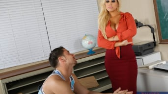 Bridgette B in 'Bridgette B. and Seth Gamble in My First Sex Teacher'