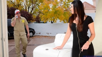 India Summer in 'and Billy Glide in Neighbor Affair'
