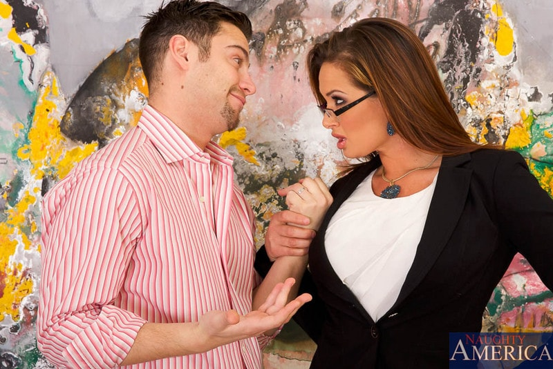 Tory Lane in Tory Lane and Seth Gamble in I Have a Wife