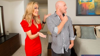 Brandi Love in 'and Johnny Sins in Seduced by a cougar'