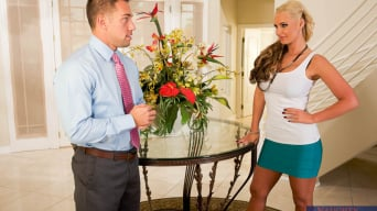 Phoenix Marie В 'and Johnny Castle in Naughty Rich Girls'