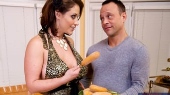 Eva Notty in 'and Kurt Lockwood in My Wife's Hot Friend'