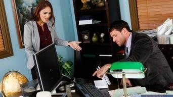 Jasmine Caro in 'and Preston Parker in Naughty Office'