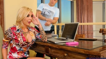 Pamela Balian in 'and Derrick Pierce in My Friends Hot Mom'