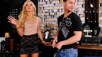 Cameron Dee in 'and Seth Gamble in Naughty Rich Girls'