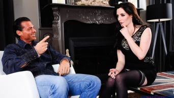 Samantha Bentley in 'and Nick Manning in My Wife's Hot Friend'
