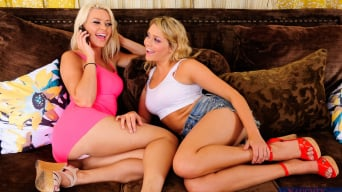 Anikka Albrite in 'Anikka Albrite, Mia Malkova and Michael Vegas in 2 Chicks Same Time'
