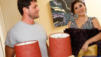 London Keyes in 'and Preston Parker in My Wife's Hot Friend'