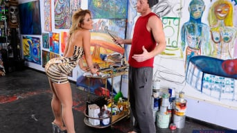 Sheena Shaw in 'and Ryan Mclane in My Dad's Hot Girlfriend'