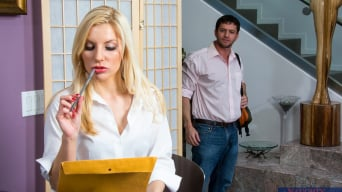 Ashley Fires in 'in My Dad's Hot Girlfriend'