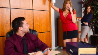 Darla Crane in 'Naughty Office'