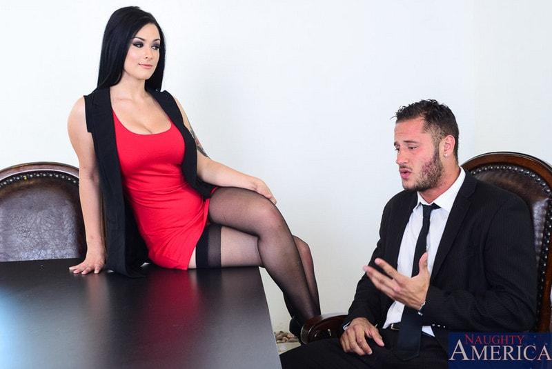 Naughty America 'in Naughty Office' starring Katrina Jade (Photo 1)