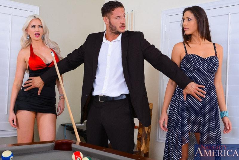 Naughty America 'and Gigi Allens in 2 Chicks Same Time' starring Anna Morna (Photo 2)