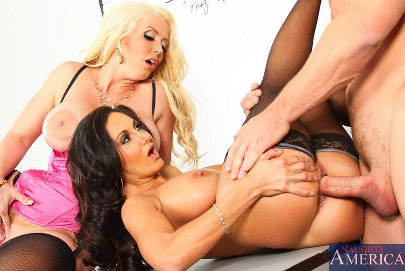 Naughty America 'My First Sex Teacher' starring Alura Jenson (Photo 4)