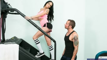 Raven Bay in 'in Naughty Athletics'