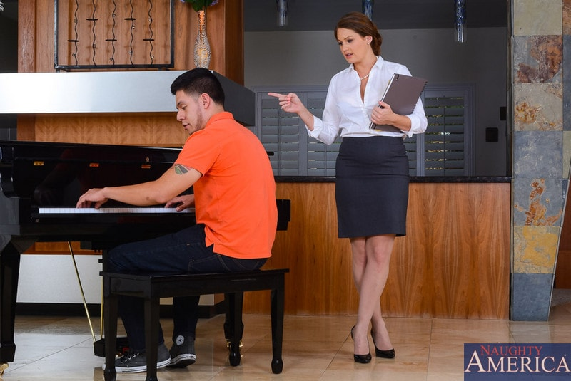 Naughty America 'in My First Sex Teacher' starring Allison Moore (Photo 1)