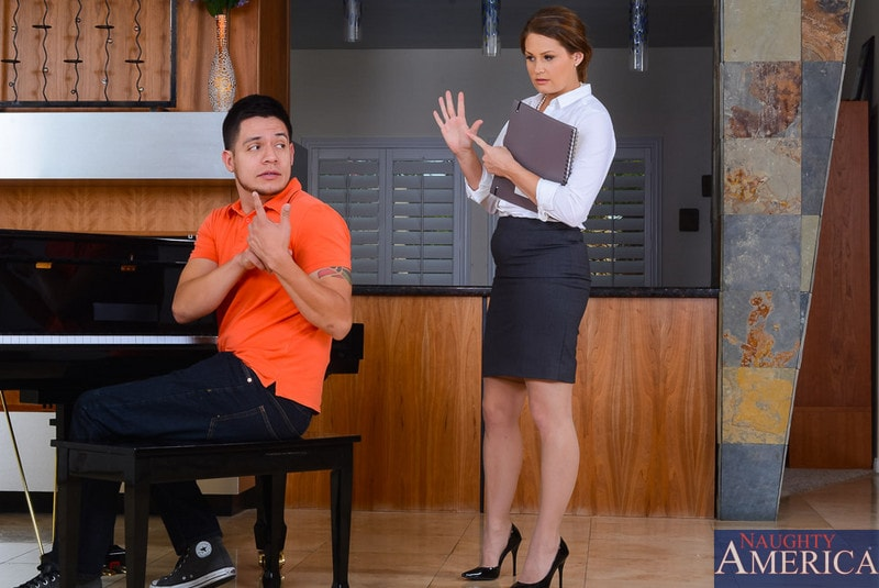 Naughty America 'in My First Sex Teacher' starring Allison Moore (Photo 2)