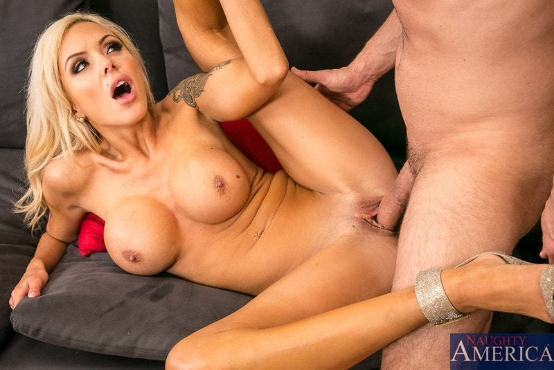 Naughty America ' in Seduced by a cougar' starring Nina Elle (Photo 5)
