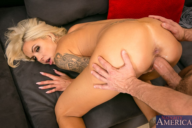 Naughty America ' in Seduced by a cougar' starring Nina Elle (Photo 14)