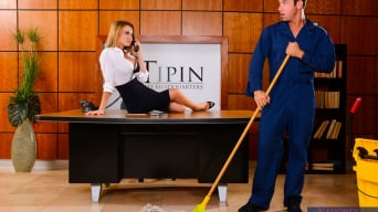 Corinne Blake in 'in Naughty Office'