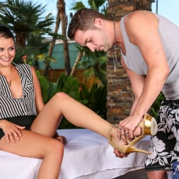 Allie Haze in 'Naughty America' in My Naughty Massage (Thumbnail 1)
