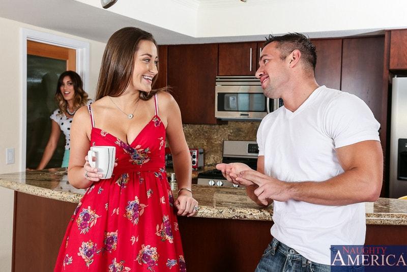Naughty America 'and Rilynn Rae in 2 Chicks Same Time' starring Dani Daniels (Photo 1)