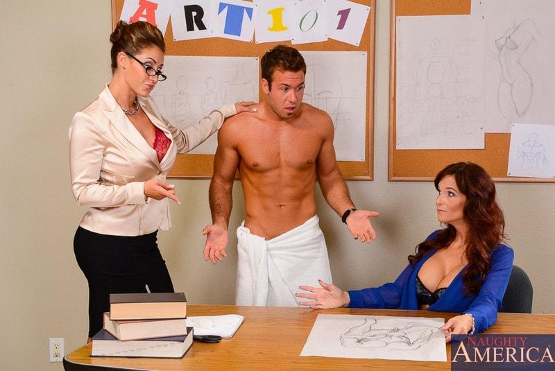 Naughty America 'My First Sex Teacher' starring Eva Notty (Photo 1)
