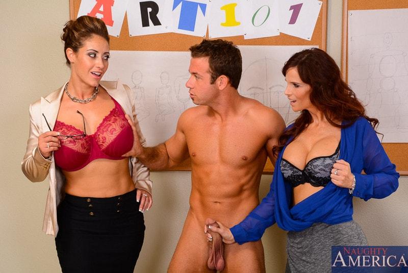 Naughty America 'My First Sex Teacher' starring Eva Notty (Photo 2)