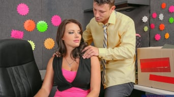 Kayla West in ' in Naughty Office'