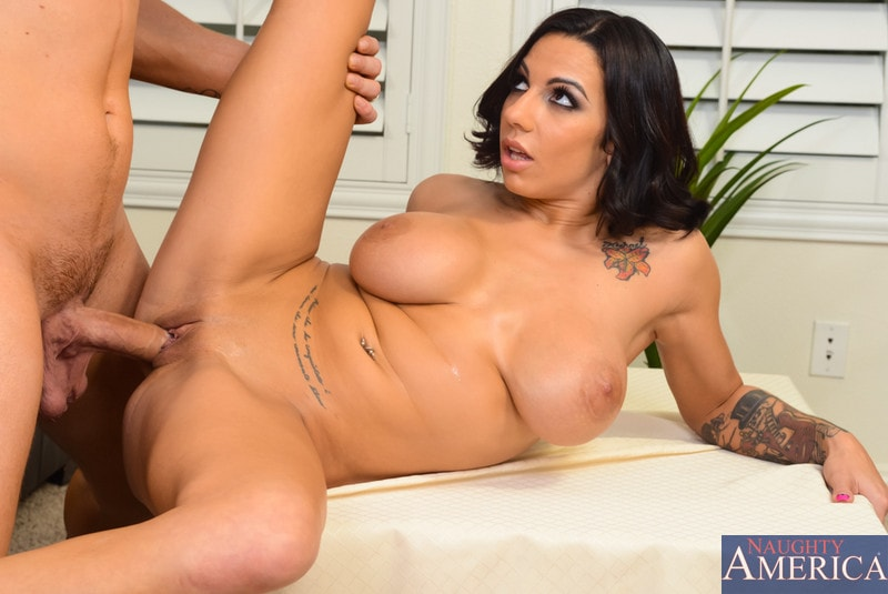 Naughty America 'in My Wife's Hot Friend' starring Lylith LaVey (Photo 5)