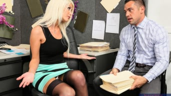 Riley Jenner in ' in Naughty Office'