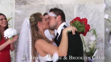 Brooklyn Chase and Brooke Wylde in Naughty Weddings