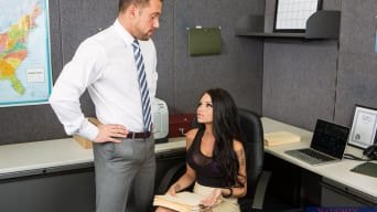 Raven Bay in 'in Naughty Office'
