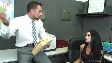Raven Bay in Naughty Office
