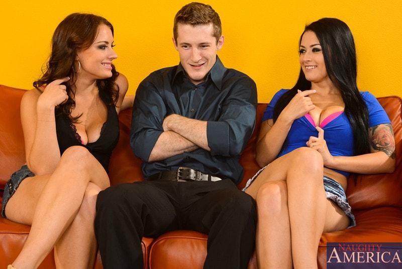 Naughty America 'and Kayla West  in My Wife's Hot Friend' starring Katrina Jade (Photo 1)