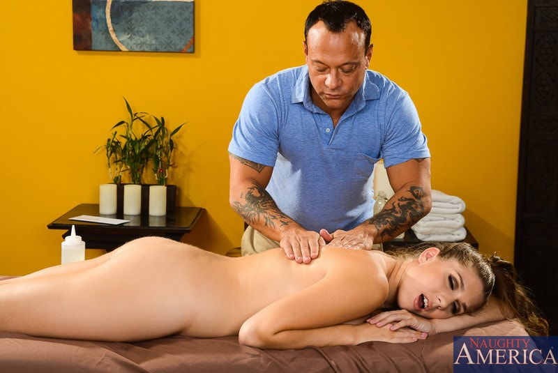 Naughty America 'in My Naughty Massage' starring Alex Chance (Photo 13)