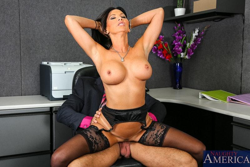 Naughty America 'in Naughty Office' starring Lezley Zen (Photo 14)