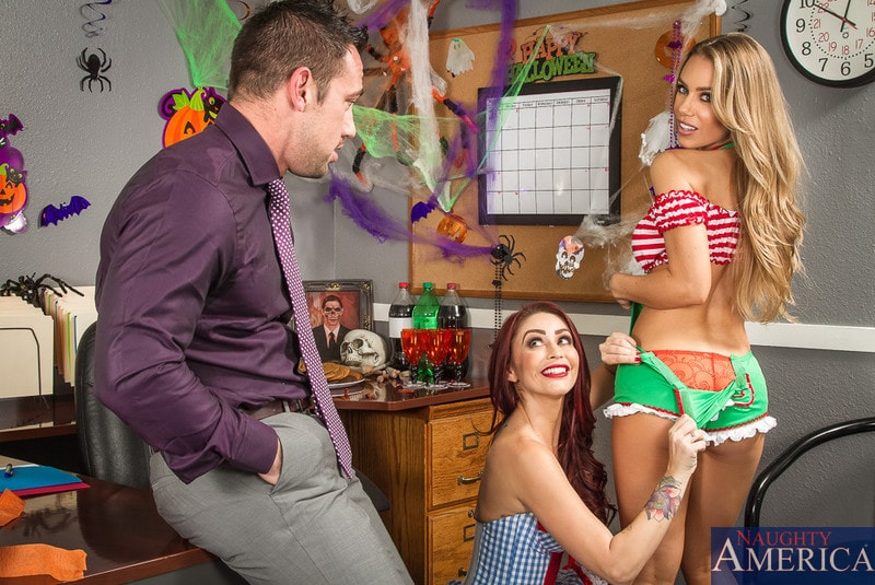 Naughty America 'and Nicole Aniston in Naughty Office' starring Monique Alexander (Photo 1)