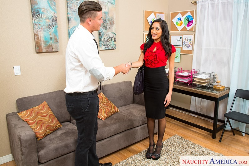 Naughty America ' in Naughty Office' starring Chloe Amour (Photo 2)