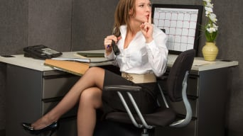 Callie Calypso in 'in Naughty Office'