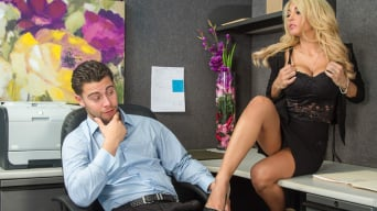 Kayla Kayden in 'in Naughty Office'