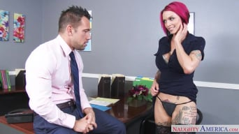 Anna Bell Peaks in ' in Naughty Office'